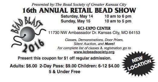 Bead Coupon KCI Expo Center