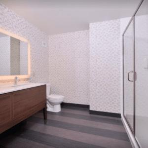 holiday inn kci expo center bathroom